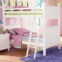 Pottery Barn Collection Loft Bed in White  , Pottery Barn Cottage Loft Bed In Bedroom Category