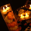 Pumpkin Candle Centerpieces , 12 Amazing Pumpkin Centerpieces In Lightning Category