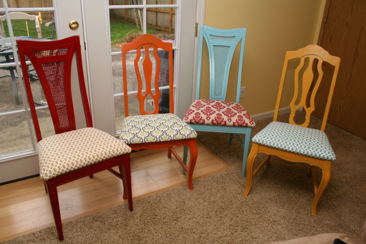 Furniture , Reupholstering Dining Room Chairs : Reupholstering Dining Room Chairs metal dining chairs