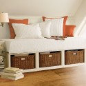 Stratton Daybed with baskets , 10 Stratton Daybed Idea In Bedroom Category