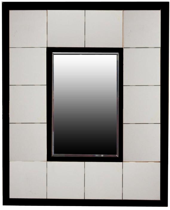 Furniture , 5 Design Of Beveled Mirror Tiles : beveled mirrior tiles picture