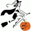 cute-retro-witch-pumpkin , 10 Cute Pumpkin Carving Patterns Ideas In Furniture Category