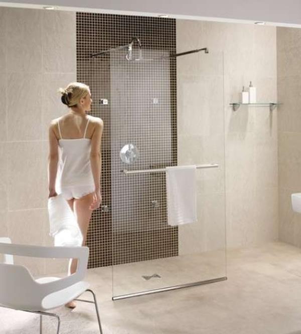 600x666px 6 Doorless Walk In Shower Designs To Consider Picture in Bathroom