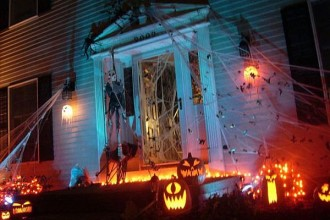 600x450px 14 Halloween Front Yard Decoration Ideas Picture in Furniture