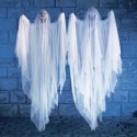 homemade-halloween-decorations-two-ghost , 11 Brilliant Ideas For Making Homemade Halloween Decorations In Furniture Category
