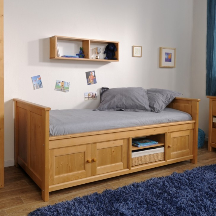 Bedroom , 9 Bed Frames With Storage Underneath : king bed frames with storage underneath