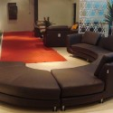 leather sectional sofa , 5 Rounded Sectional Sofa For Your Living Room In Living Room Category