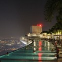 marina-sands-bay-pool-at-night , Marina Bay Sands Infinity Pool – Awesome! In Apartment Category