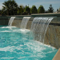 modern Inground Pool Waterfalls , 5 Inground Pool Waterfalls Idea In Apartment Category