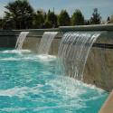 modern Inground Pool Waterfalls , 5 Inground Pool Waterfalls Idea In Apartment Category