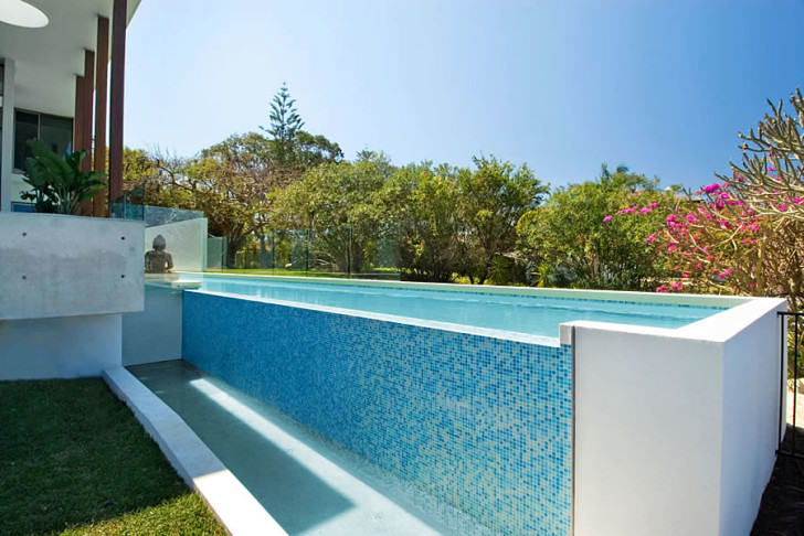 Apartment , 6 Awesome Above Ground Lap Pools Design : Modern Above Ground Lap Pools