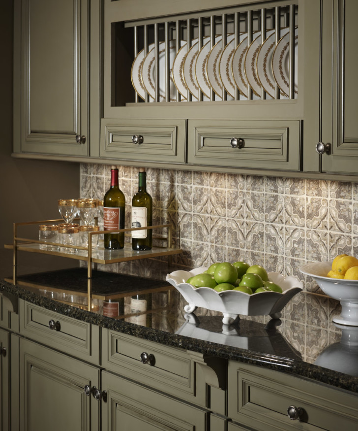 Kitchen , 7 Beautiful Sage Green Kitchen Cabinets : sage green kitchen cabinets inspired by kraftmaid