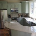 sage green kitchen cabinets with island , 7 Beautiful Sage Green Kitchen Cabinets In Kitchen Category