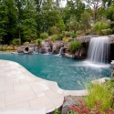 swimming pool waterfalls , 5 Inground Pool Waterfalls Idea In Apartment Category