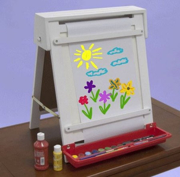 600x590px Nice Tabletop Easel For Kids Picture in Furniture