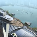 the marina-bay-sands-infinity-pool-singapore sky view , Marina Bay Sands Infinity Pool – Awesome! In Apartment Category
