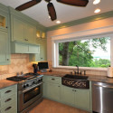 Sage Green Custom Cabinets - traditional - kitchen - dallas - by Chip ... , 7 Beautiful Sage Green Kitchen Cabinets In Kitchen Category