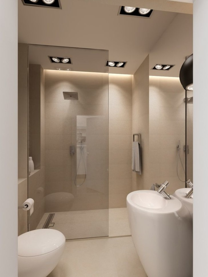 Walk in showers without doors designs 6 doorless walk in for Bathroom door ideas