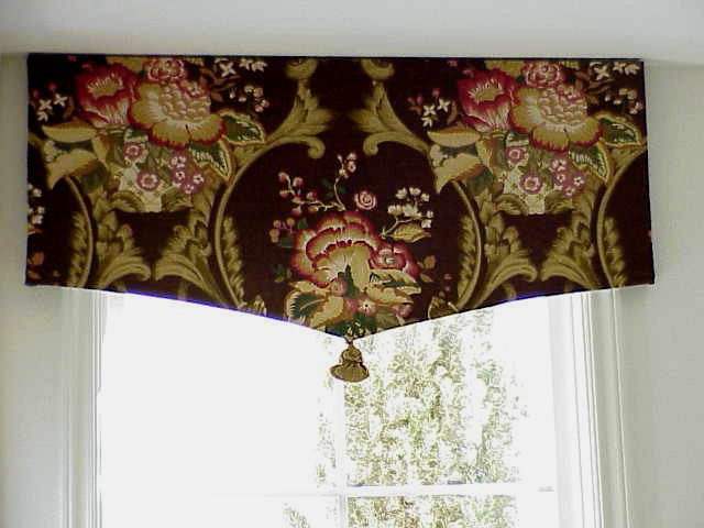 Furniture , 10 Cool Window Valances Patterns : window valances patterns 1