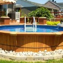 wood above ground lap pools , 6 Awesome Above Ground Lap Pools Design In Apartment Category