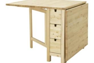 500x500px 6 Ikea Gateleg Table Design Picture in Furniture