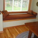 Orange bay window seat cushions , 7 Nice Bay Window Seat Cushions To Copy In Furniture Category