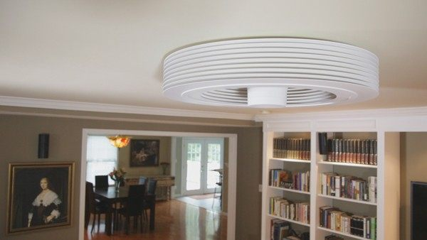 Furniture , Bladeless Ceiling Fan Idea : bladeless ceiling fan