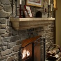 Angelo Fireplace Surround , 6 Fabulous Rustic Fireplace Surrounds In Furniture Category