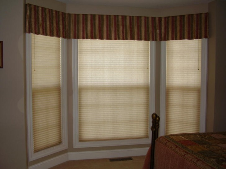 Furniture , 8 Top Window Treatments For Bay Windows Pictures : Bergof Guest