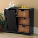 Black Kitchen Island , 8 Nice Kitchen Island With Garbage Bin In Kitchen Category