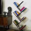 Bookcases , 8 Good Angled Bookshelves In Furniture Category