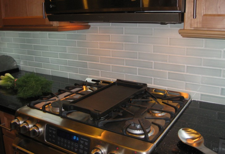 Kitchen , 9 Gorgeous Porcelain Subway Tile Backsplash : Brine ceramic