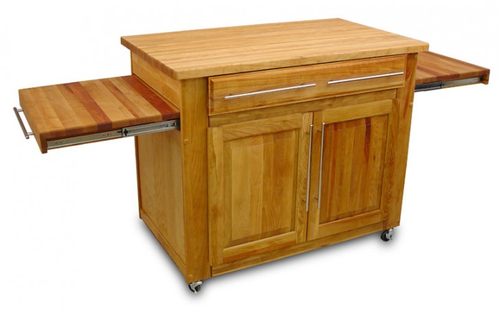 Kitchen , 7 Cool Catskill Kitchen Islands : Catskill The Empire Island Kitchen Trolley