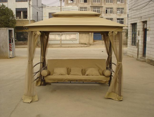 Bedroom , 7 Wonderful Outdoor Canopy Swing Bed : China Garden Canopy