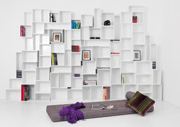 Furniture , 8 Charming Cubit Shelving : Cubit modular shelving system