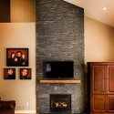 Dark Stone Veneer , 6 Gorgeous Stone Veneer Fireplace Surround In Furniture Category