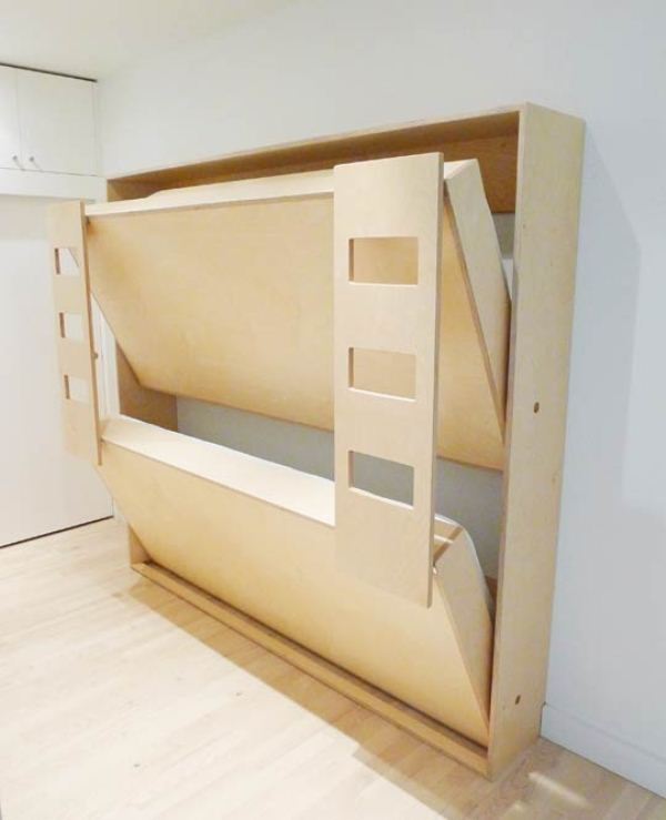 600x739px 6 Wonderful Space Saver Bunk Beds Picture in Bedroom