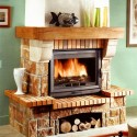 Fireplace Surrounds , 6 Fabulous Rustic Fireplace Surrounds In Furniture Category
