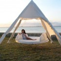 Hanging outdoor day bed , 8 Cool Floating Bed Hammock In Furniture Category