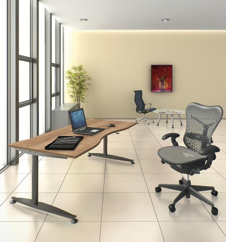 Furniture , 7 Lovely Herman Miller Adjustable Height Desk : Height adjustable desks