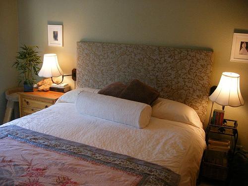 Bedroom , 7 Charming Homemade Bed Headboards : Homemade Headboards