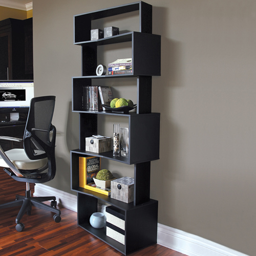 Furniture , 8 Good Angled Bookshelves : Household Shelving