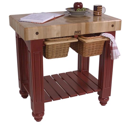 Furniture , 8 Nice Ohn Boos Kitchen Islands : John Boos Kitchen Island Cart
