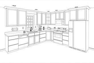 750x471px 8 Charming Kitchen Cabinet Layout Software Free Picture in Kitchen