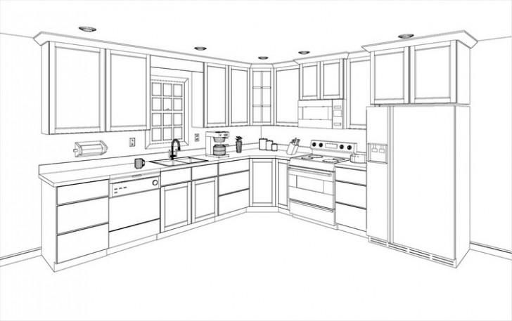 Kitchen , 8 Charming Kitchen Cabinet Layout Software Free : KITCHEN DESIGN