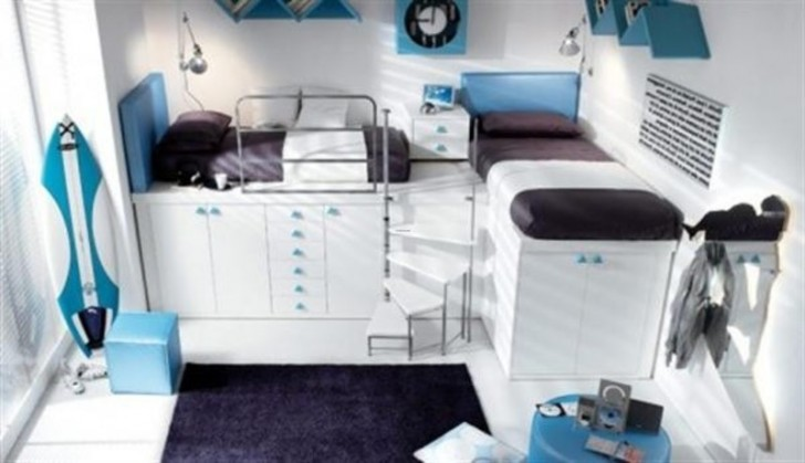 Bedroom , 4 Top Tumidei Loft Beds For Sale : Kids Bunk Bed Loft Design