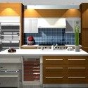 990x698px Beautiful  Traditional Kitchen Work Table Wood Photo Inspirations Picture in Kitchen