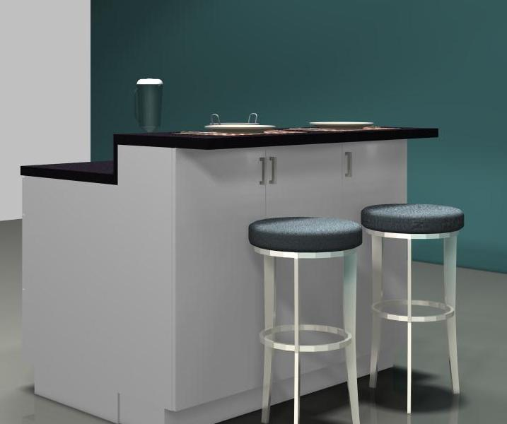 717x600px 7 Cool Ikea Kitchen Islands With Breakfast Bar Picture in Kitchen