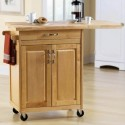 Kitchen Islands & Carts , 7 Unique Mainstays Kitchen Island Cart Natural In Kitchen Category