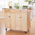 Kitchen , 7 Stunning Movable kitchen islands with stools : Kitchen Islands